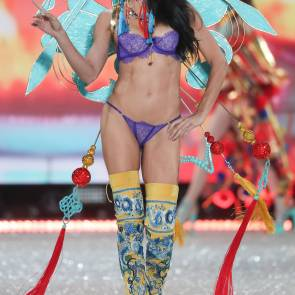 adriana lima as colorful victoria's angel