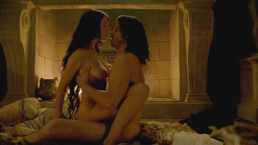 Ana Ularu Nude Sex Scene In Borgias Series