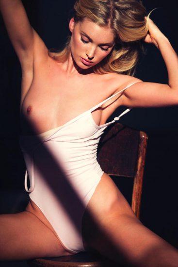elsa hosk boob popped out of bikini