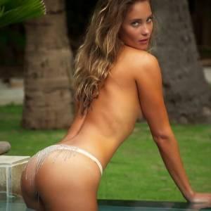 Hannah Davis Topless Photoshoot