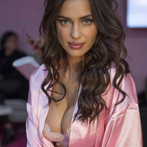 irina shayk in backstage