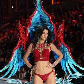 kendall jenner hot as victoria's angel