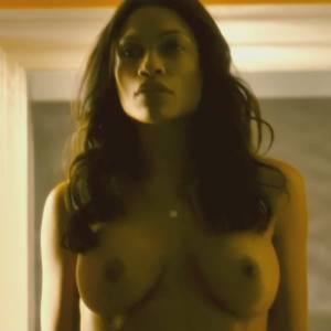 Rosario Dawson Nude Scene In Trance Movie