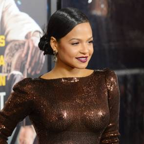 Christina Milian sexy at live by night
