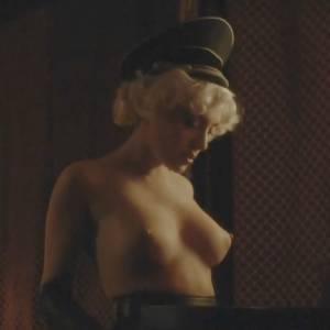 Elena Satine Nude Scene In Magic City TV Series