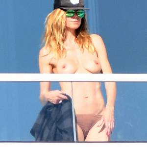 Heidi Klum Tits Paparazzi Pics