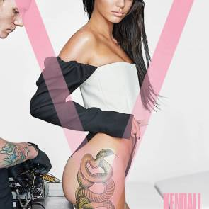 Kendall Jenner hot for V magazine