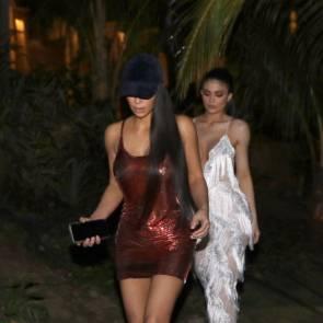 Kylie Jenner Kim Kardashian Sexy in costarica