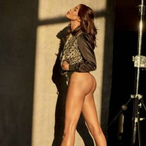 Naomi Campbell Naked For GQ Magazine
