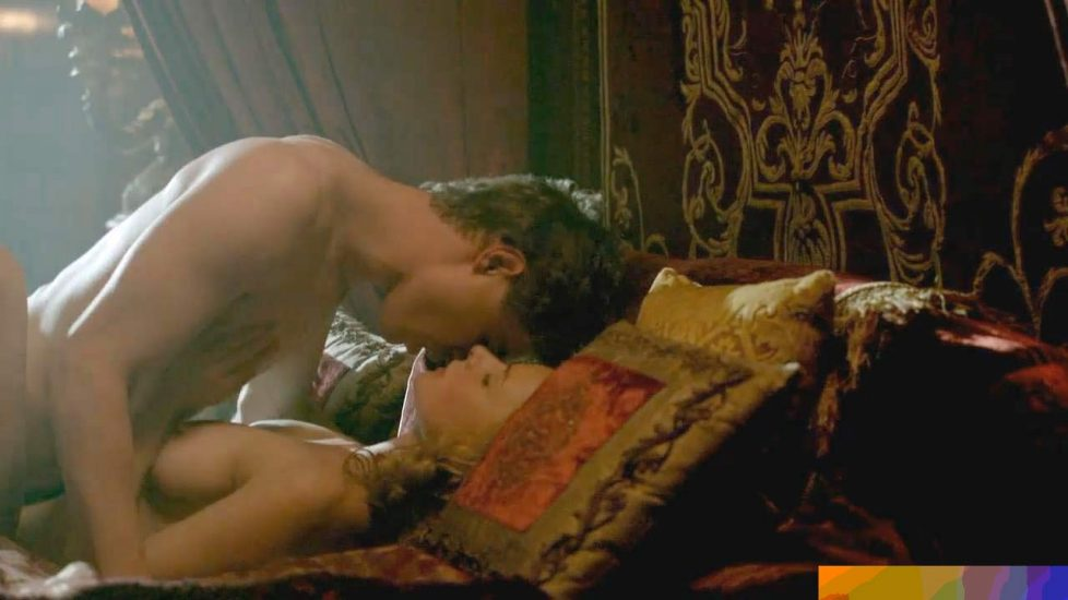 Rebecca Ferguson topless sex