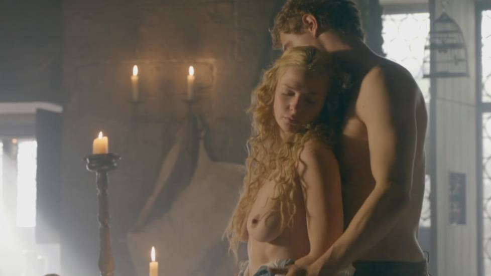 Rebecca Ferguson Nude Sex Scene In The White Queen TV Series