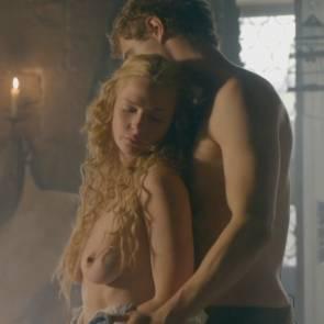 Rebecca Ferguson Nude Sex Scene In The White Queen TV Series