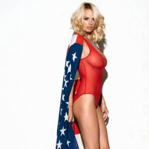 Rhian Sugden naked boobs for president trump