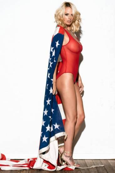 Rhian Sugden naked boobs for president trump
