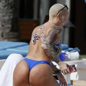 Amber Rose sexy ass