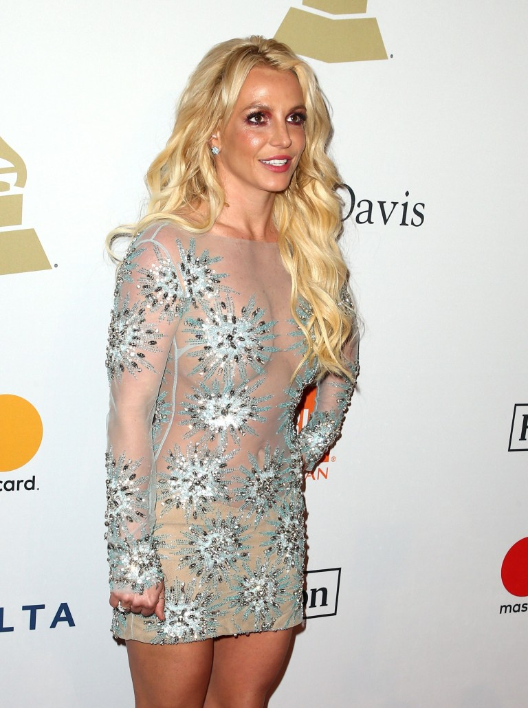 Bikini Niche Girls: Britney Spears Hard Pokie Nipples
