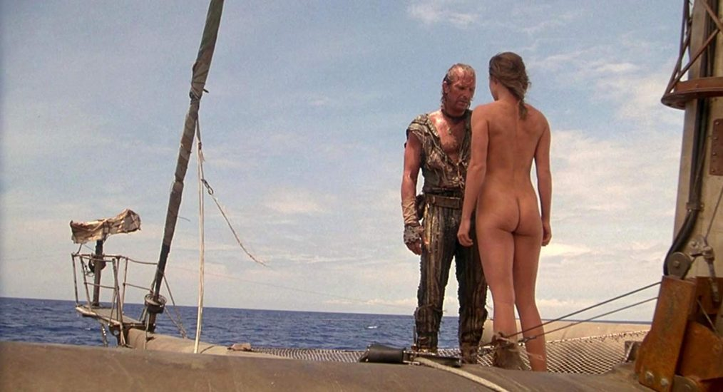 Jeanne Tripplehorn naked ass on the boat