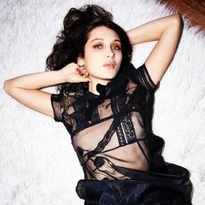 bella hadid nipple pick for Love magazine