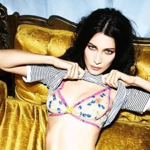 Bella Hadid Nipples For Love Magazine