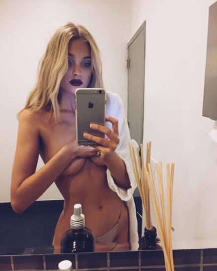 Elsa Hosk Nude & Topless Pics And LEAKED Porn Video 49