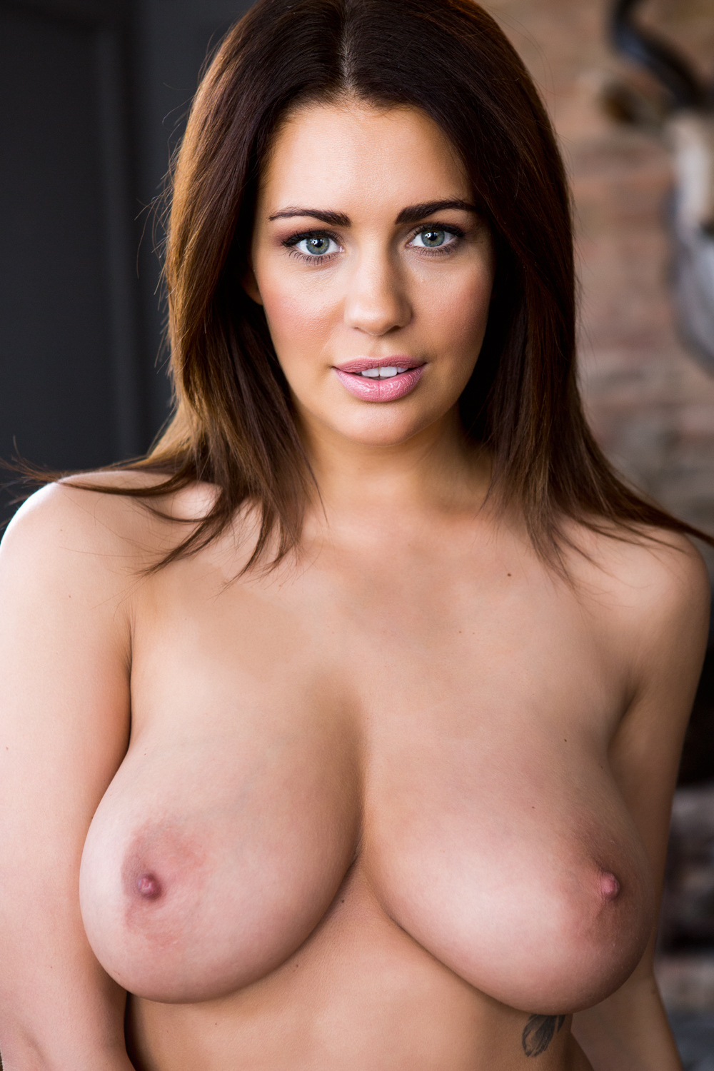 Areola big brown nipples