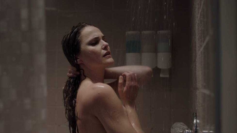 the in Woman shower having sex