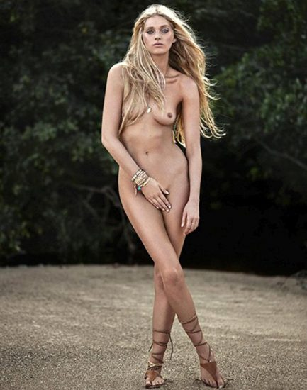 Elsa Hosk Nude & Topless Pics And LEAKED Porn Video 31