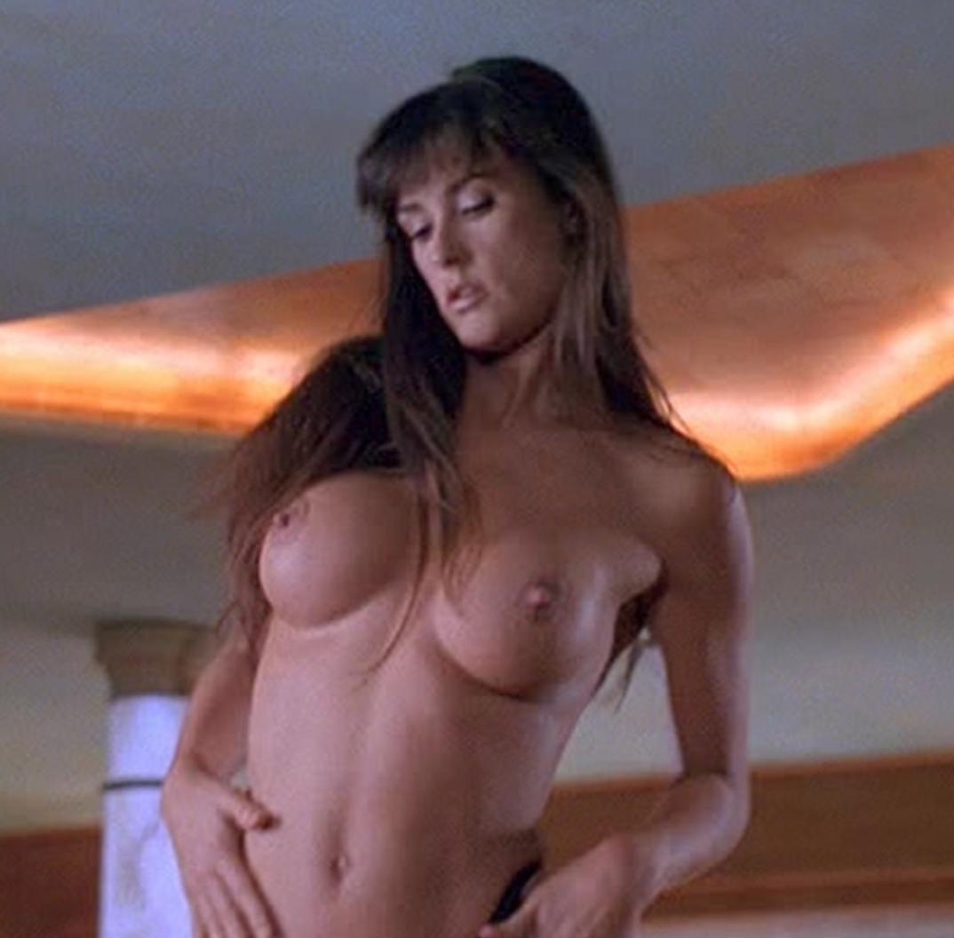 Demi moore strip tease nude