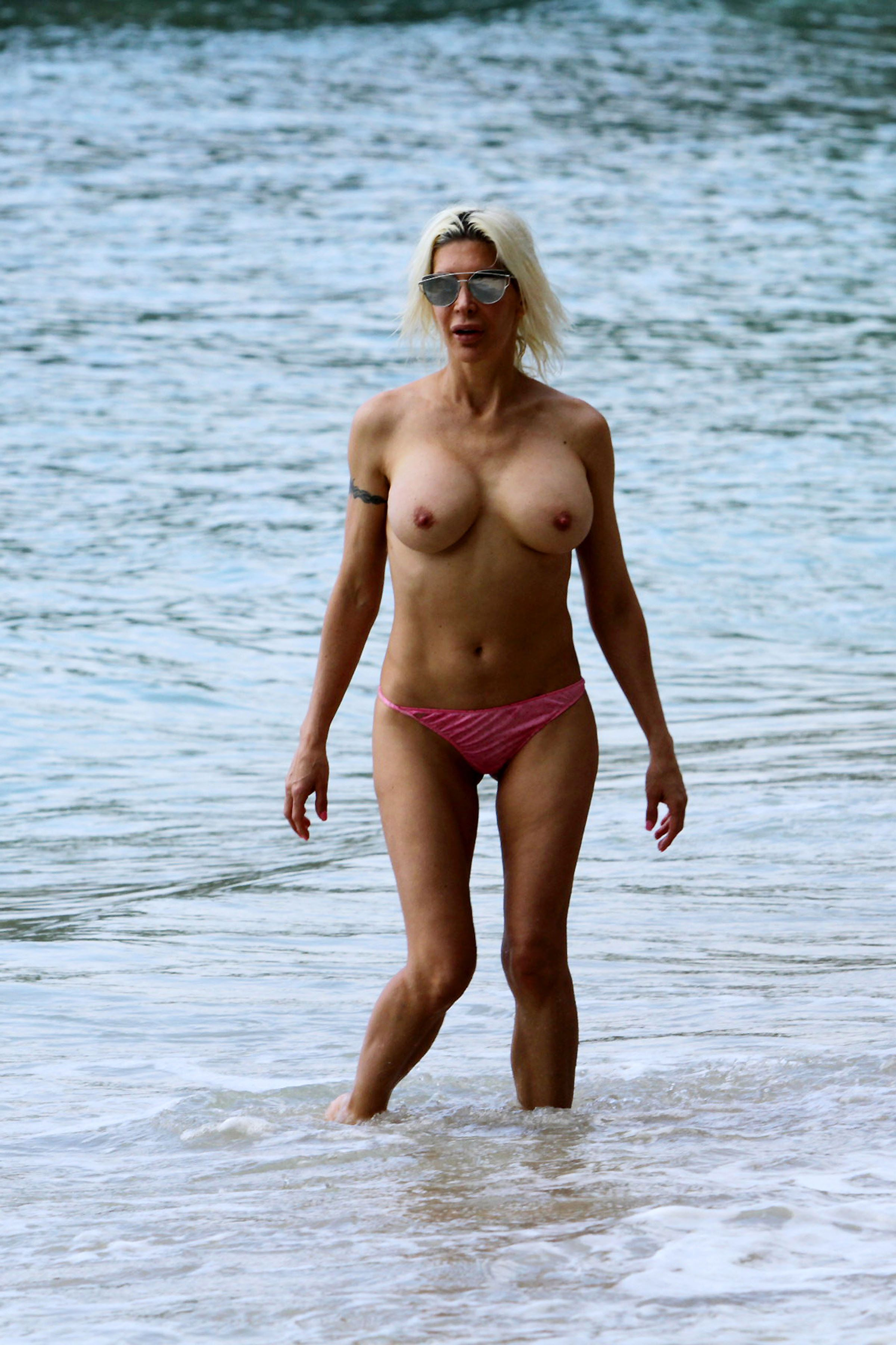 Angelique Frenchy Morgan Naked frenchy morgan nude on the beach - scandal planet
