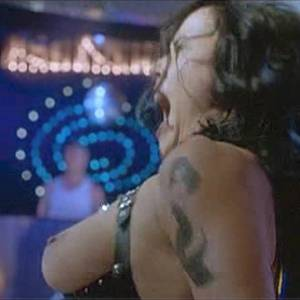 Jennifer Tilly Pole Sexy Dance Scene In Dancing At The Blue Iguana Movie