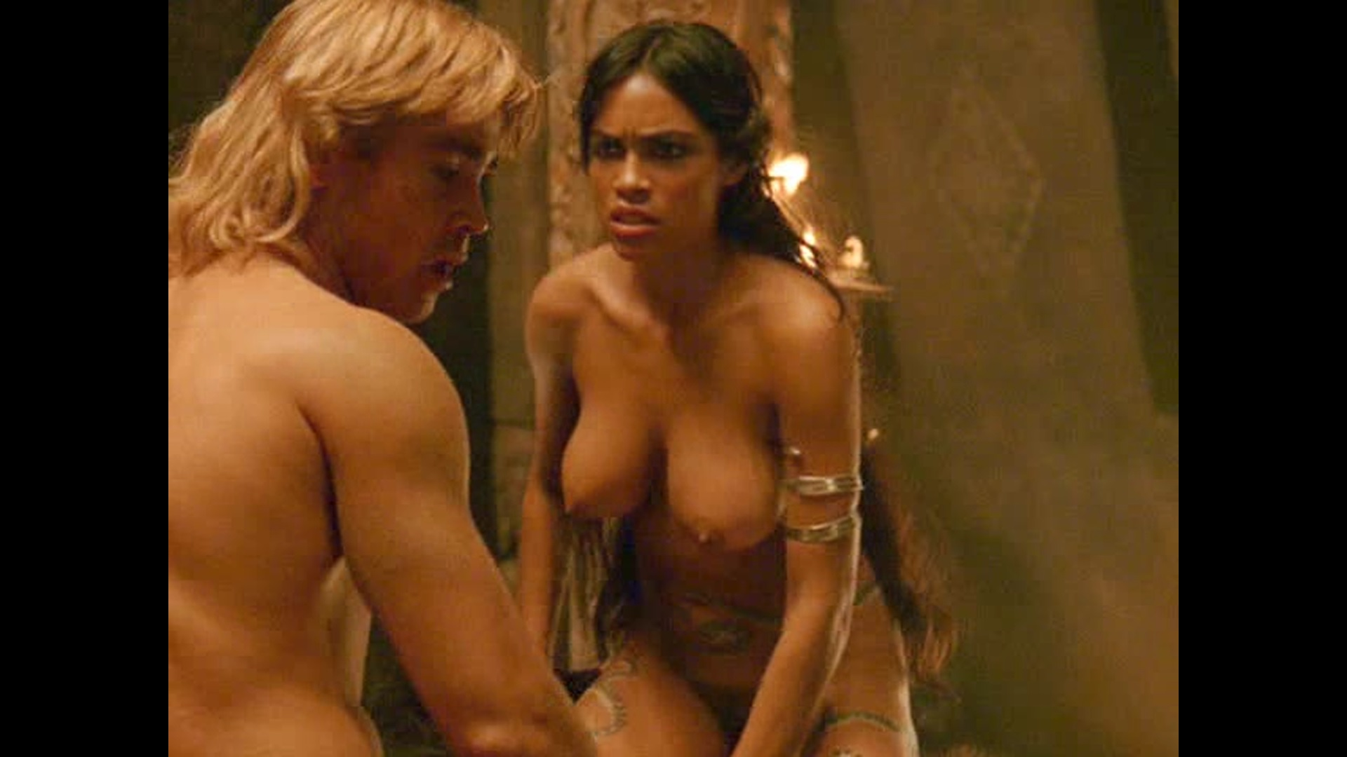Alexander movie sex scene