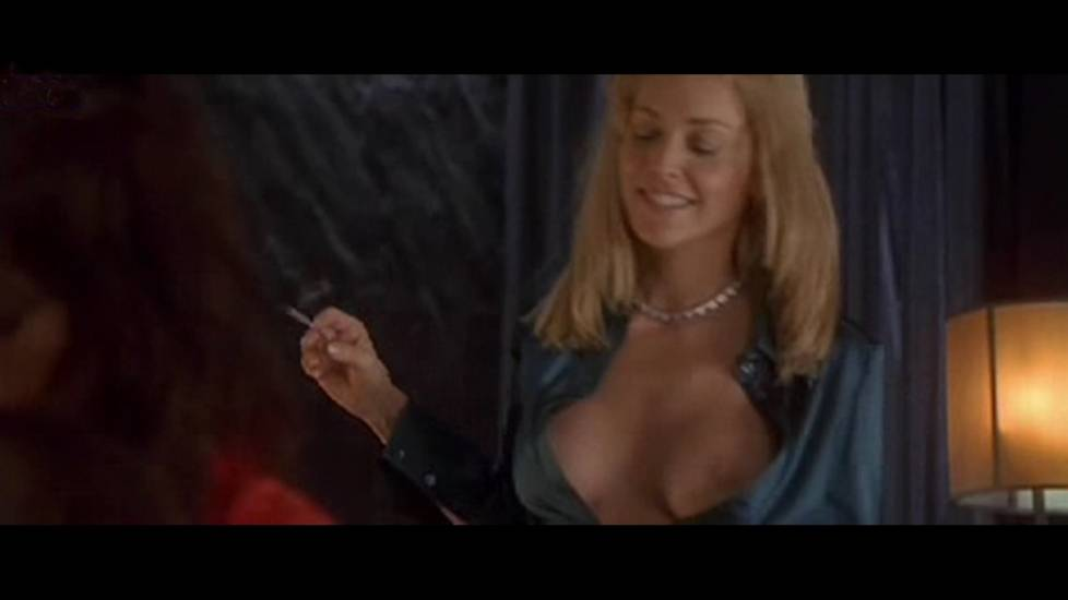 Sharon Stone - Anne Caillon - Basic Instinct 2 Threesome