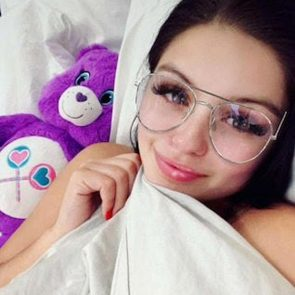 Ariel Winter in bed