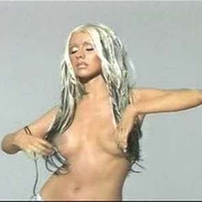 Christina Aguilera Nude Scene In MTV Diary TV Show