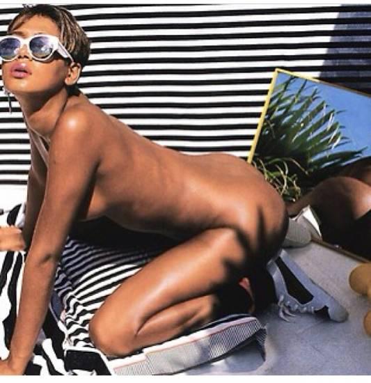 Rihanna ass on the yacht