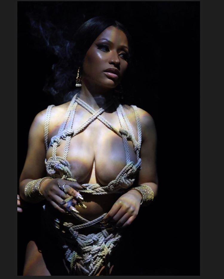 Nicki Minaj Nude In Rope Bondage - Scandal Planet-4840