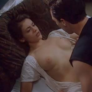 Alyssa Milano Nude Boobs And Sex Scene In Embrace of the Vampire Movie