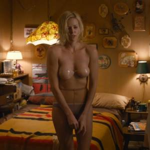 Charlize Theron Nude Scene In Young Adult Movie