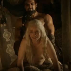 Emilia Clarke Nude Sex Scene In Game of Thrones Series