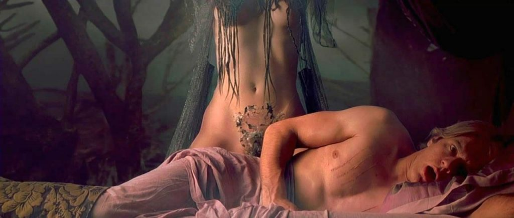 Monica Bellucci nude tits and pussy