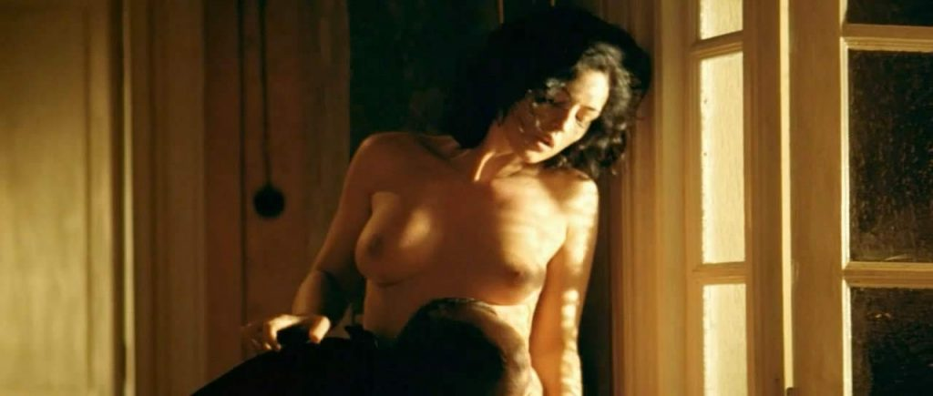 Monica Bellucci topless in sex scene