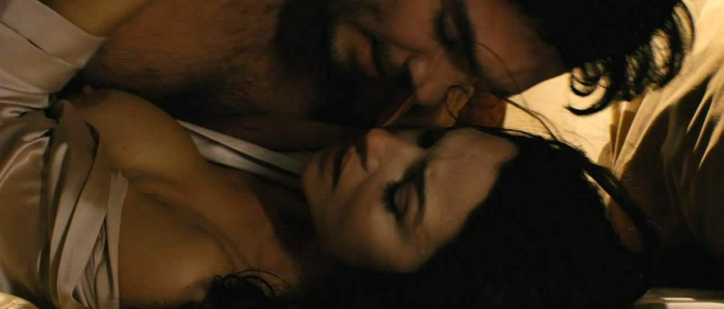 Monica Bellucci boobs in sex scene