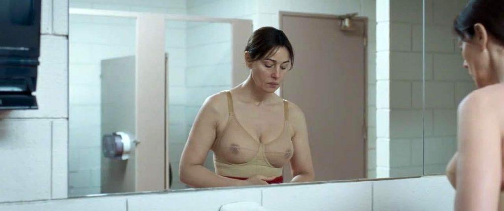 Monica Bellucci nude nipples