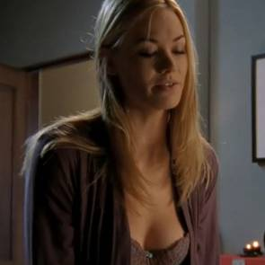 Yvonne Strahovski Nude Sexy Boobs In Chuck Series
