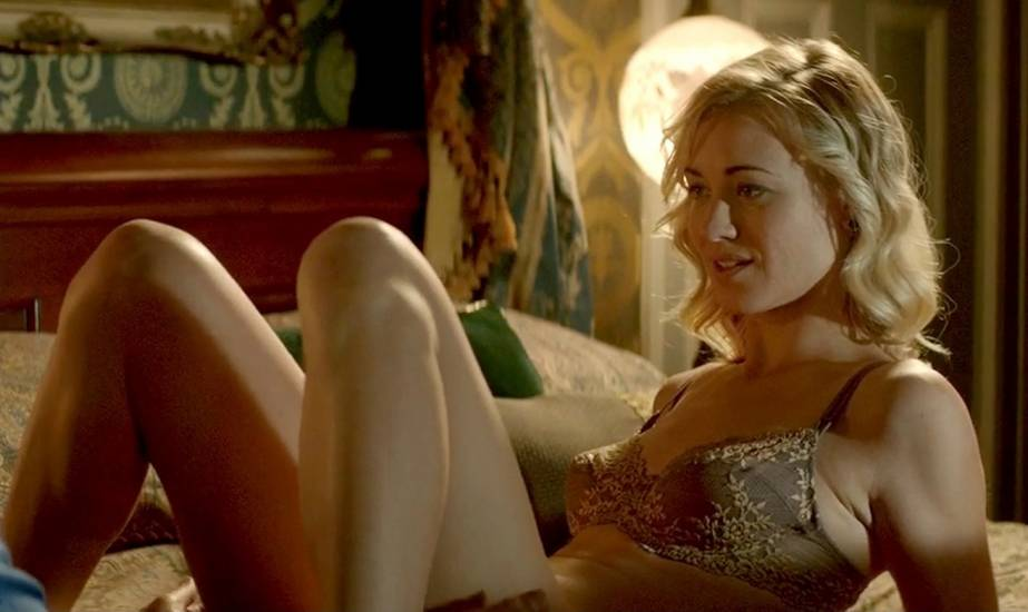 Yvonne Strahovski Hot Scene In Manhattan Night Movie