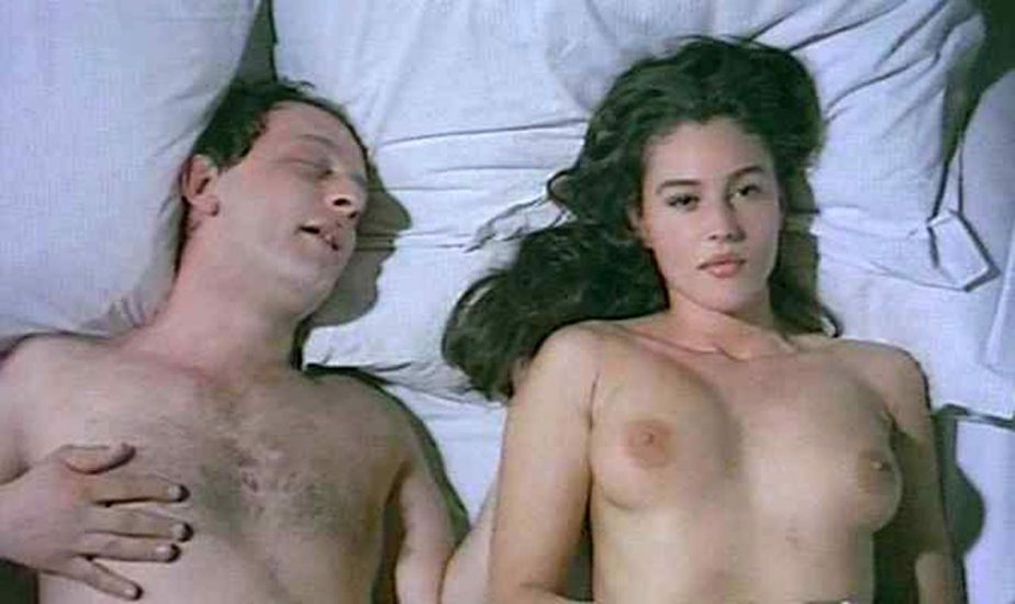 Monica Bellucci tits while young