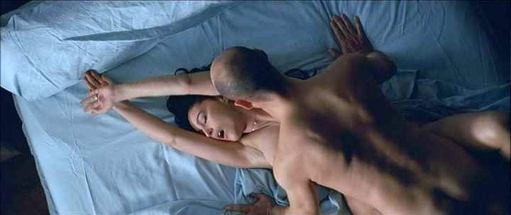 Monica Bellucci nude in a sex scene