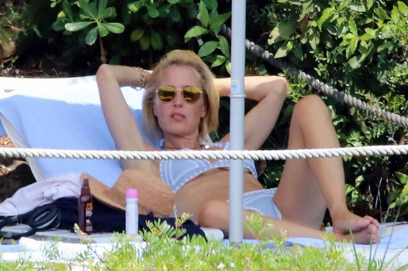 Gillian Anderson Nude LEAKED Photos And Topless Sex Scenes 48