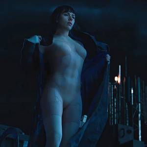 Scarlett Johansson Naked Body In Ghost