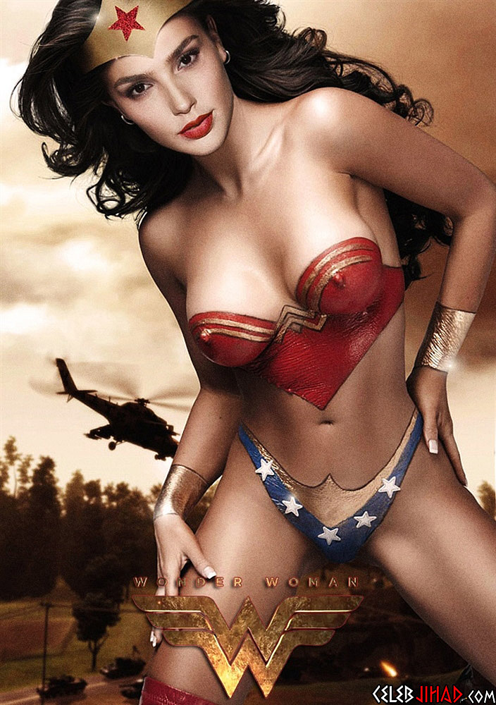 pictures nude Wonder Woman